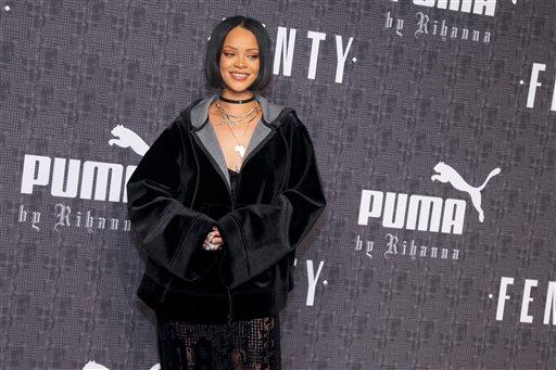 Rihanna Hits the Runway _ This Time, as Designer