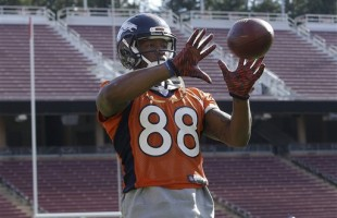 Broncos' Demaryius Thomas' Mom to Watch from the Stands, Not the Cell This Time