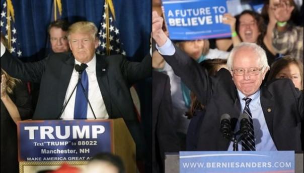 Trump, Sanders Victorious in New Hampshire Primaries