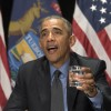 Obama Tells Flint Residents: 'I've Got Your Back'