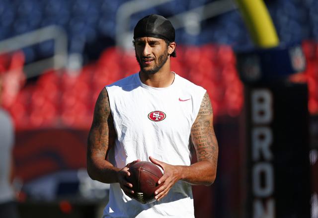 Sheriff's Office in California invites 49ers quarterback Kaepernick to police academy