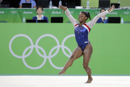 Rio 2016: Biles wins women's vault gold