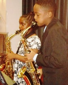 Ephraim and Ebban Dorsey duet brother sister saxophonist
