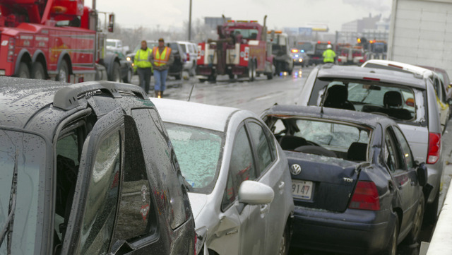 2 Dead after Fiery 55 Car Crash on Icy I-95 Baltimore Highway | Afro