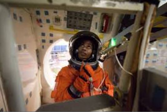 Stephanie Wilson has flown to space a total of three times between 2006 and 2010. (Courtesy photo)