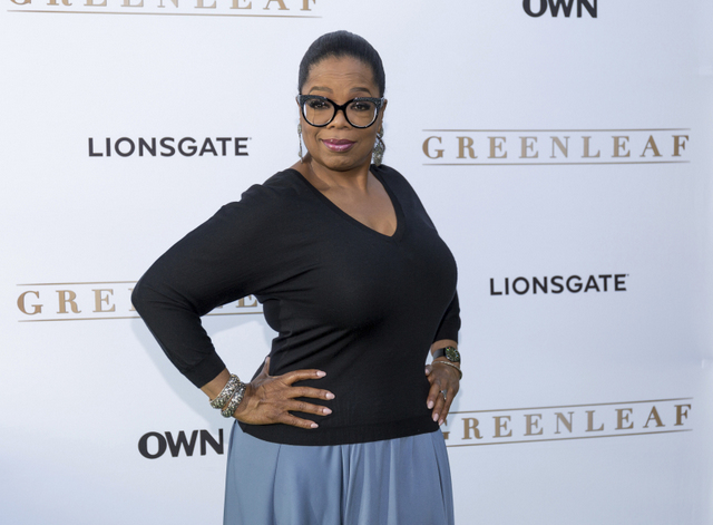 """FILE - In this June 15, 2016 file photo, Oprah Winfrey arrives at the season one premiere of """"Greenleaf"""" in West Hollywood, Calif. Winfrey says she is regaining her creative confidence after finding a scripted television series that has kept viewers tuned into her OWN Network. """"Greenleaf"""" delves into a story about the troubled first family of a sprawling Memphis, Tennessee, megachurch where adultery and domestic abuse causes disorder in a house of worship. The second season of the show premieres March 15 at 10 p.m. EDT on OWN. (Photo by Willy Sanjuan/Invision/AP, File)"""