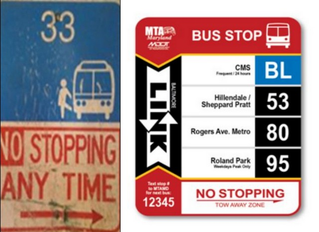 MTA Bus Signs