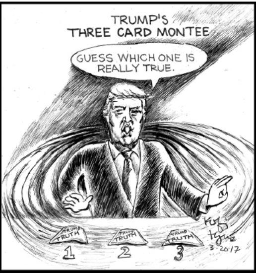Trump Cartoon Commentary