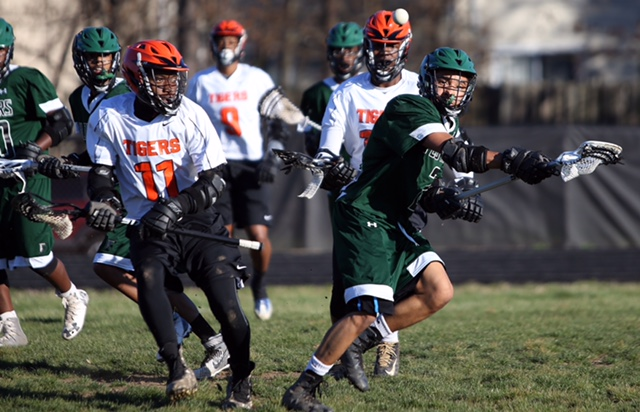 Charles H. Flowers High boys lacrosse squad have been making steady improvements. (Photo by Daniel Kucin, Jr.)