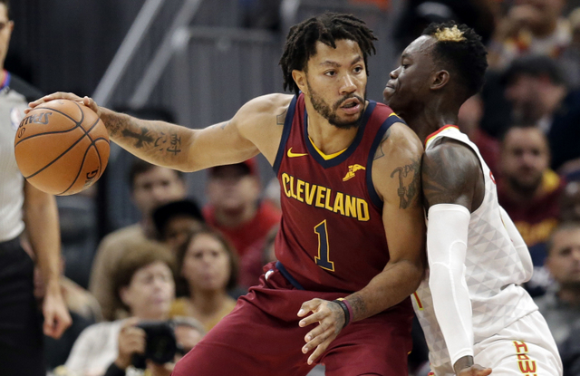 Injured Derrick Rose not with Cavaliers, evaluating his basketball future: report
