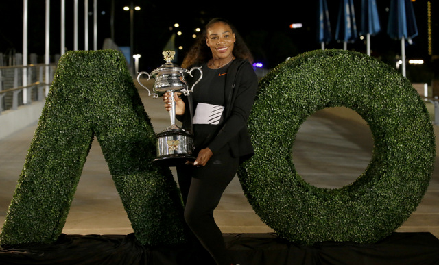 Defending Champion Serena Williams Won't Play the Australian Open