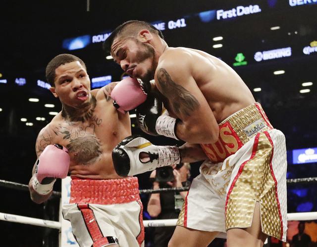 Gervonta Davis stops Jesus Cuellar, picks up WBA strap