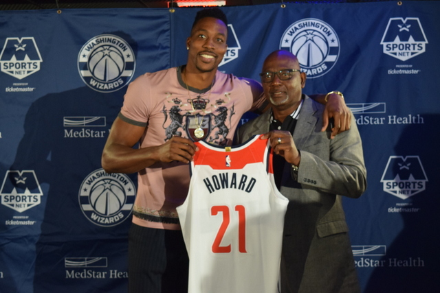 san francisco 6e07e c4e82 Is a Happy Howard Ready to Lead the Wizards? | Afro