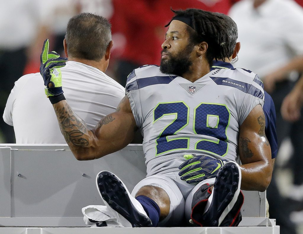 Image result for earl thomas middle finger