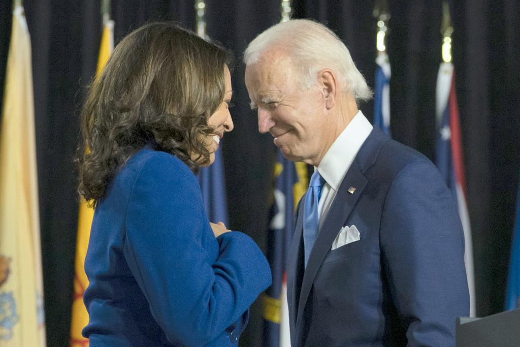 Finally, It's Biden and Harris
